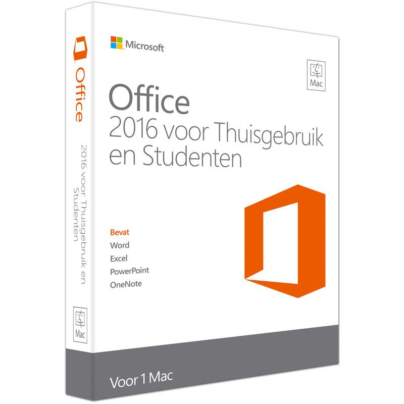 Microsoft Office Mac Thuisgebruik En Studenten 2016 Nl
