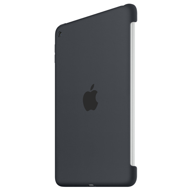 Apple iPad Mini 4 Siliconenhoes Donkergrijs
