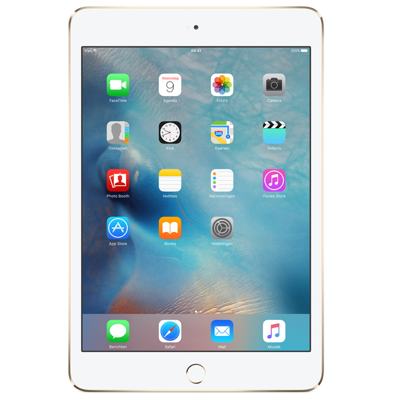 Apple Ipad Mini 4 Wifi 16 Gb Goud