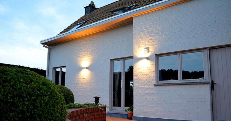 Advies over buitenverlichting - Buitenverlichting gevelhuis ...