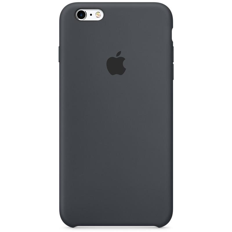 Apple Silikon Case iPhone Cover Geschikt voor model (GSM's): Apple iPhone 6S, Apple iPhone 6 Antraci
