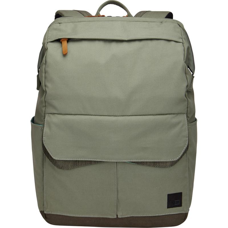 Case Logic LODP-114 Laptop Backpack Medium Petrol Green