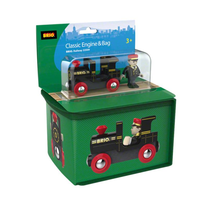 Brio reiskoffer met locomotief