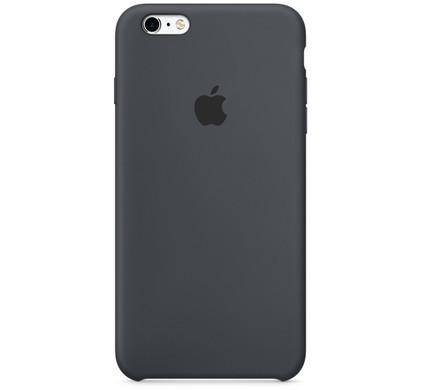 Apple iPhone 6s Plus Silicone Case Zwart
