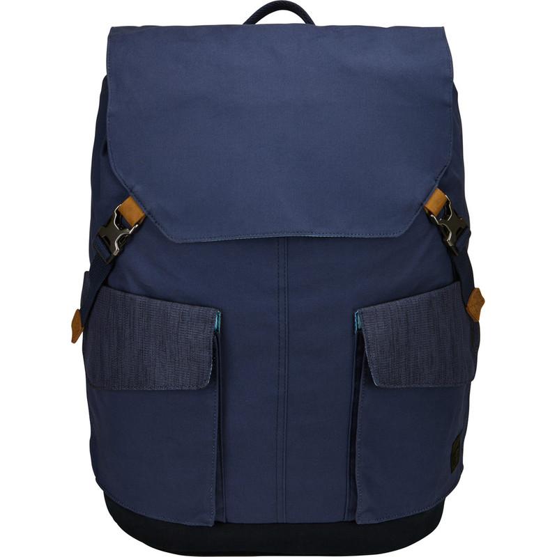Case Logic LODP-115 Laptop Backpack Large Dress Blue