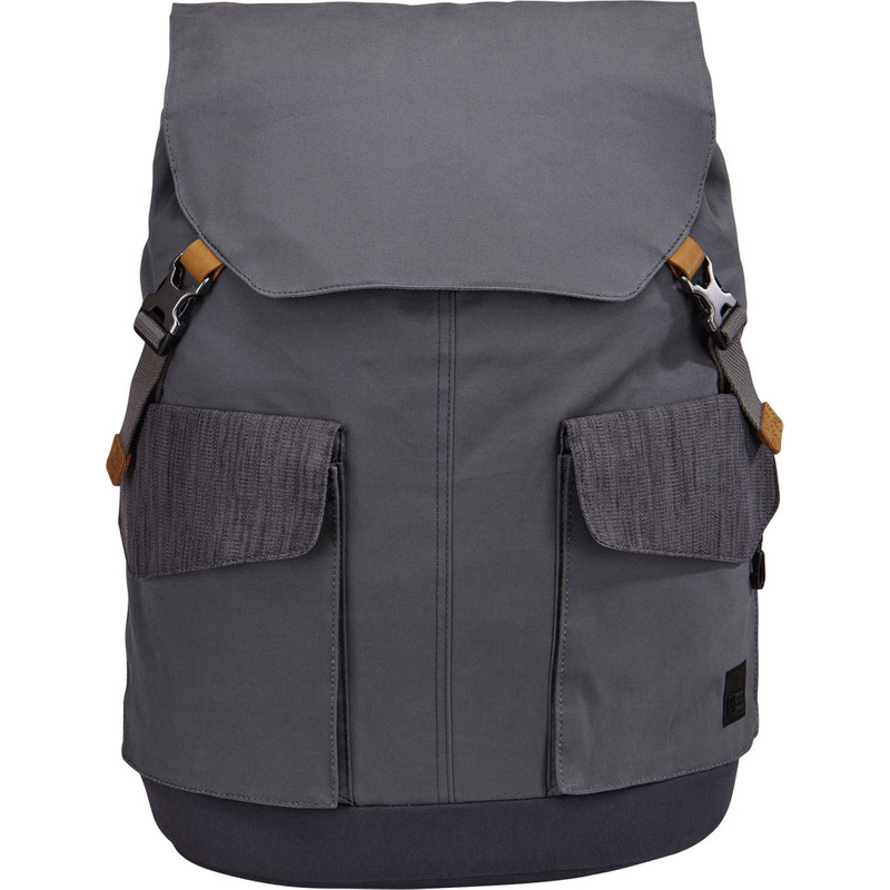Case Logic LODP-115 Laptop Backpack Large Graphite