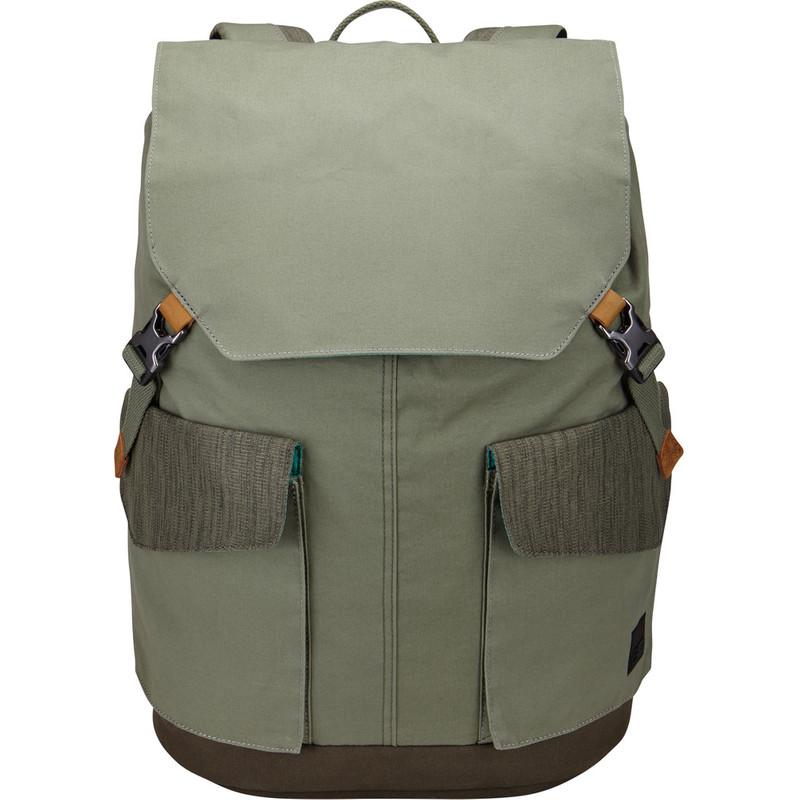 Case Logic LODP-115 Laptop Backpack Large Petrol Green