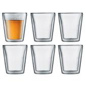 Bodum Canteen Dubbelwandige glazen 20 cl (6 stuks)