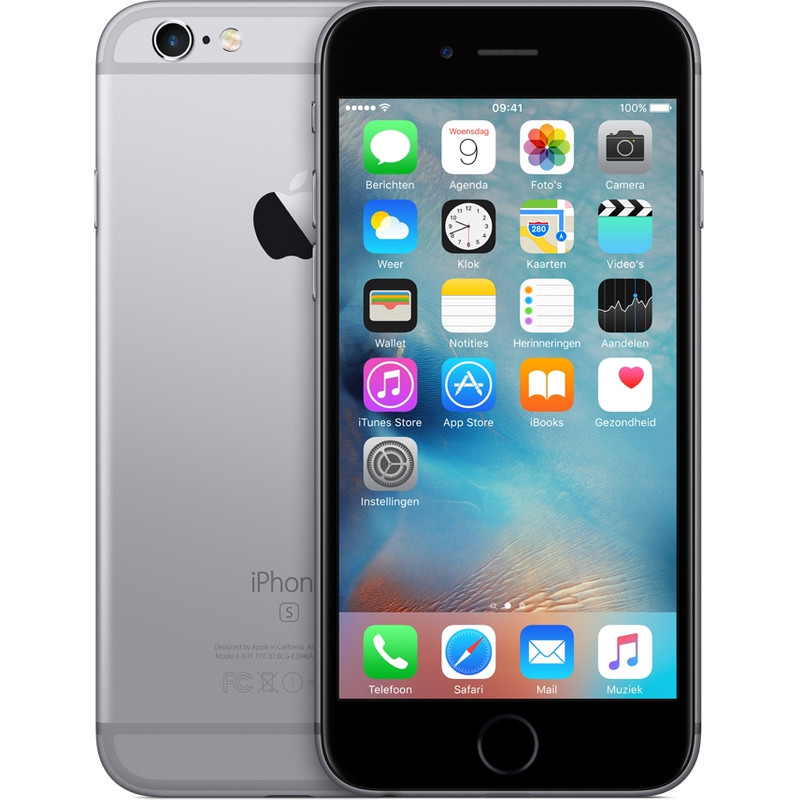 Apple Iphone 6s 16 Gb Space Gray Vodafone