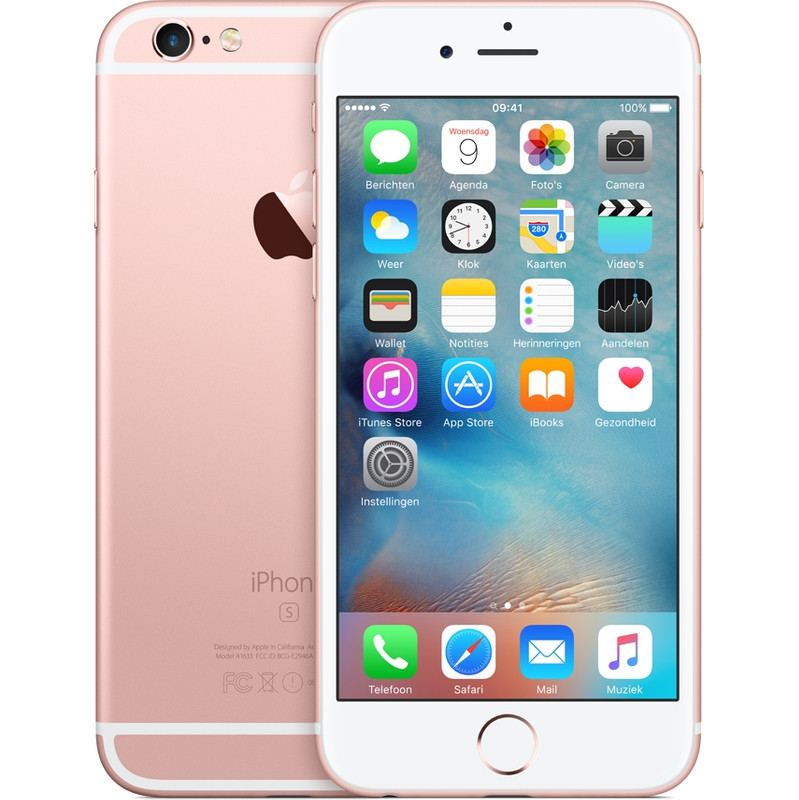 Apple Iphone 6s 64 Gb Rose Gold T-mobile