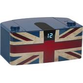 Bigben Radio/CD-speler Vlag UK USB