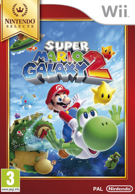 Super Mario Galaxy 2 Select Wii