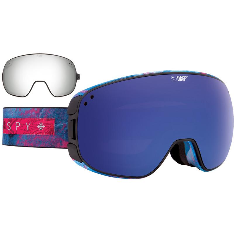 Spy Bravo Marbled Purple / Dark Blue SpectraandSilver Mirror