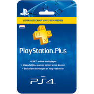PlayStation Plus Card 3 Maanden NL