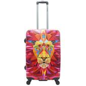 Saxoline Jungle Lion 4 Wheel Trolley 71 cm