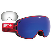 SPY Bravo Galactic Red / Dark Blue Spectra & Silver Mirror