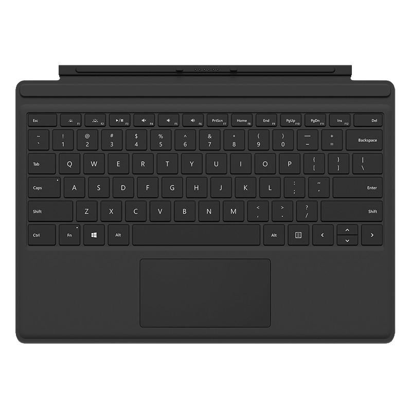 Microsoft Surface Pro 4 Type Cover Qwerty Zwart