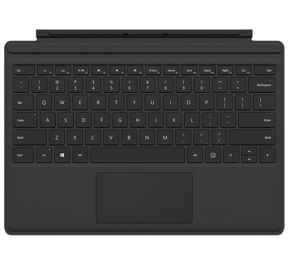 Microsoft Surface Pro 4 Type Cover Qwerty Zwart
