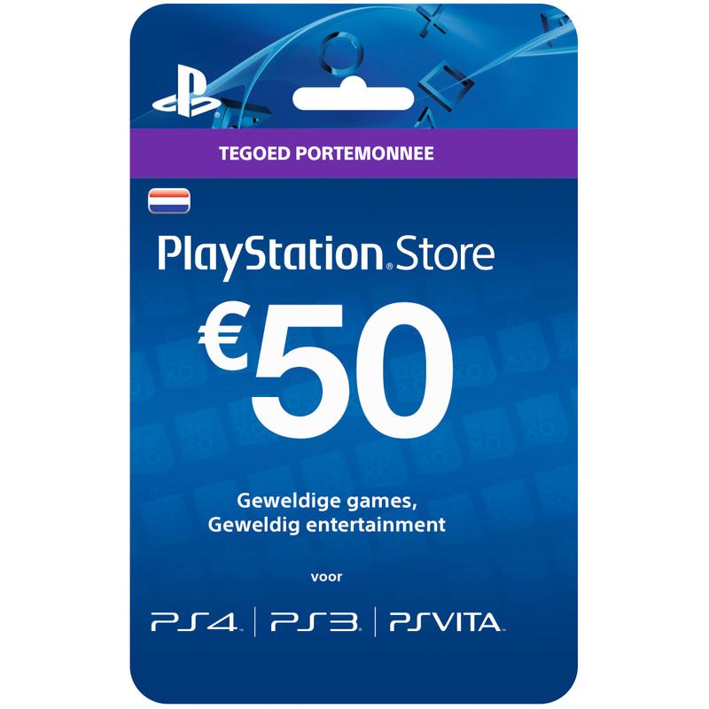 PlayStation Network Voucher Card 50 Euro NL