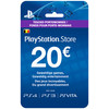 PlayStation Network Voucher Card 20 Euro BE