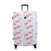 Saxoline Flamingo 4 Wheel Trolley 71 cm