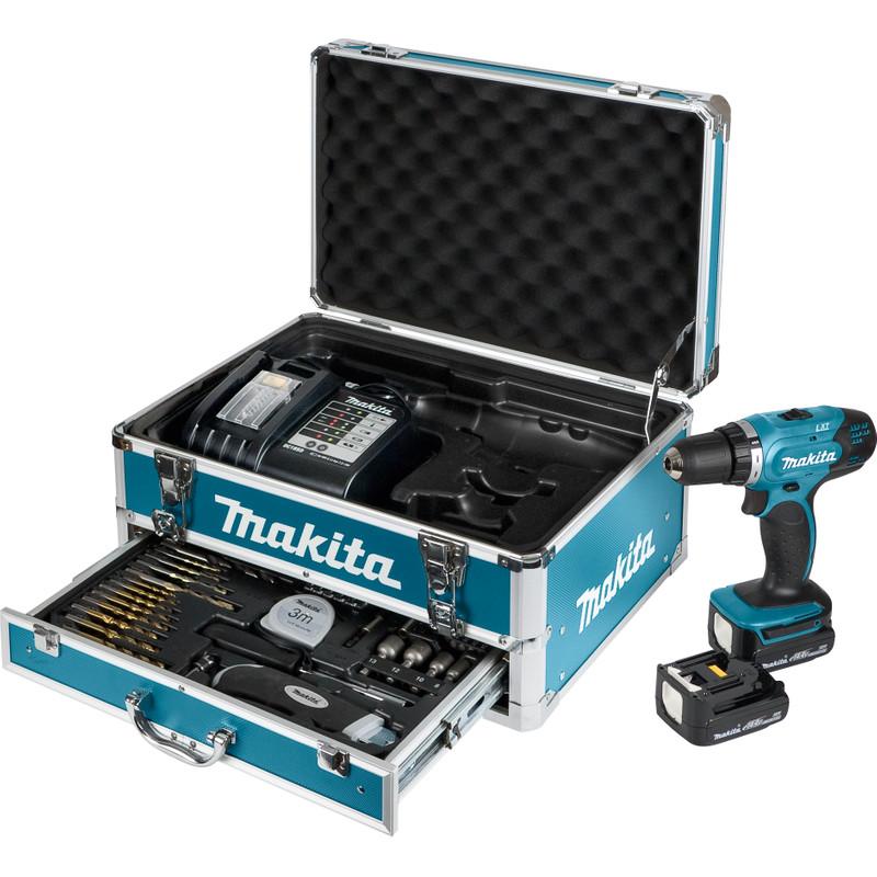 Makita DDF343SHX3 + Accessoire Set