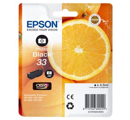 Epson 33 Cartridge Fotozwart (C13T33414010)