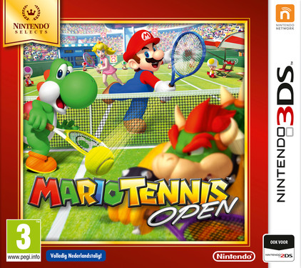 Mario Tennis Open Select 3DS