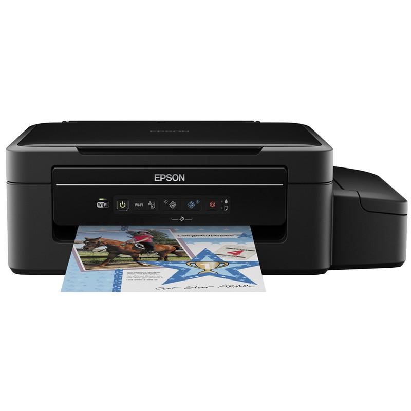 Multifunctionele inkjetprinter Epson EcoTank ET-2500 A4 Printen, Scannen, Kopiëren WiFi, Inktbijvuls