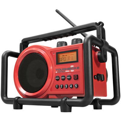 Image of FM Bouwradio PerfectPro Toughbox 2 AUX, Middengolf, FM Spatwaterbestendig, Stofdicht, Stofvast Rood