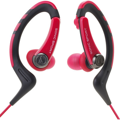 Image of Audio-Technica ATH-Sport1 Rood