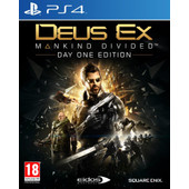 Deus Ex: Mankind Divided - Day One Edition PS4