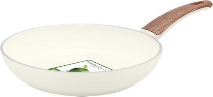 Greenpan WoodBe Wokpan 28 cm Crème