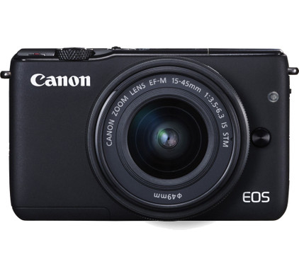 Canon EOS M10 Zwart + 15-45mm f/3.5-6.3