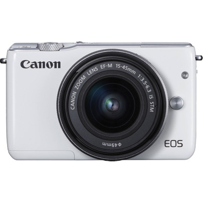 Image of Canon Eos M10 + 15-45mm - Wit