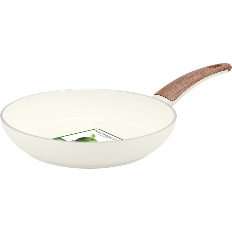 Greenpan WoodBe Koekenpan 24 cm Crème