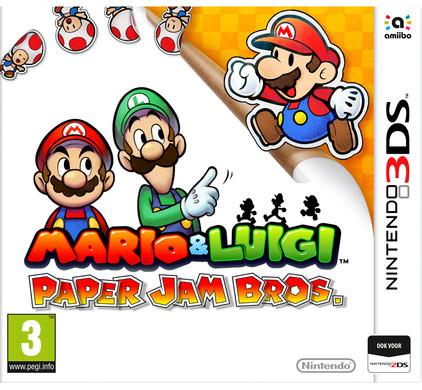 Mario & Luigi: Paper Jam Bros. 3DS