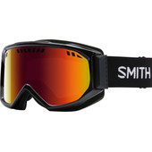 Smith Scope Black + Red Sol X Lens