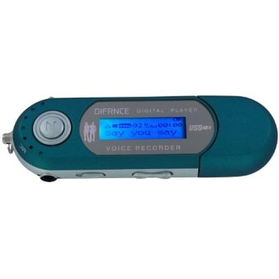 Difrnce MP851 - MP3 speler - 4 GB - Blauw