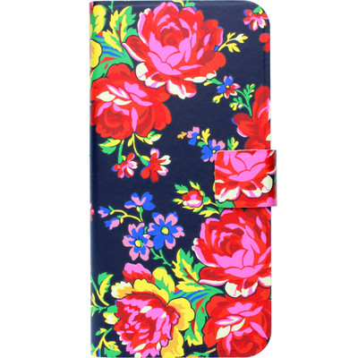 Image of Accessorize Navy Rose Book Case Apple iPhone 6/6s