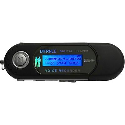 Difrnce MP851 - MP3 speler - 4 GB - Zwart