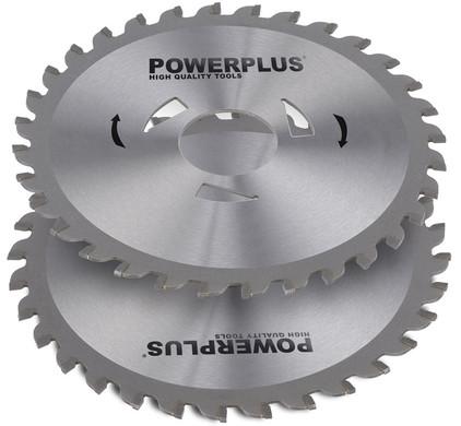 Powerplus zaagbladen 115mm 28T (2stuks)