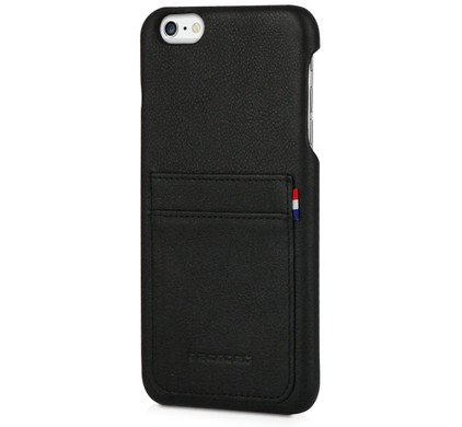 Decoded Leather Back Cover Apple iPhone 6 Plus/6s Plus Zwart