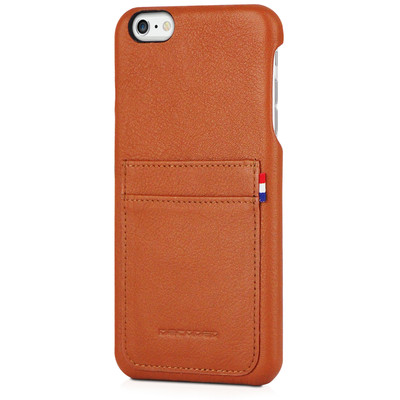 Image of Decoded Leather Back Cover Apple iPhone 6 Plus/6s Plus Bruin