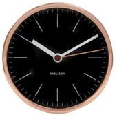 Karlsson Minimal Alarm Clock Black