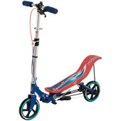 Space Scooter Rood/Blauw