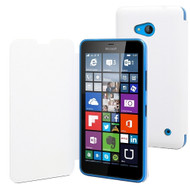 Muvit Book Case Microsoft Lumia 640 Wit