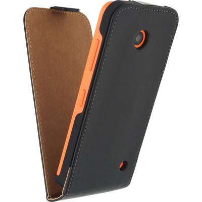 Mobilize Classic Flip Case Nokia Lumia 630/635 Zwart