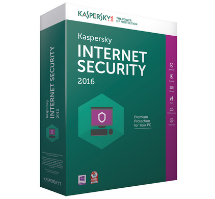 Kaspersky Internet Security 2016 1 jaar 5 users