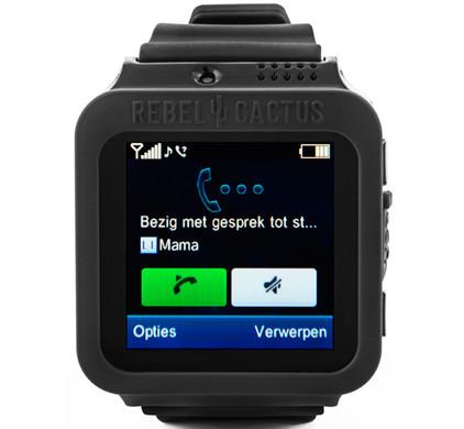 Rebel Cactus Smartwatch Zwart